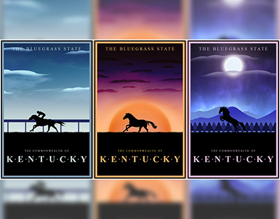 Kentucky Travel Posters