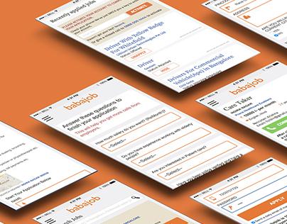 Babajob Mobile Web