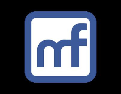 Material Facebook UI Design Customization