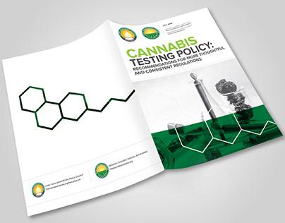 Cannabis Testing Policy // Brochure