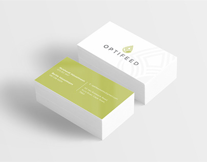 Optifeed Logo & Stationary