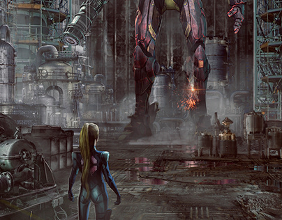 Big Samus Robot Suit