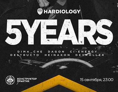 Афиша Hardiology 5 years