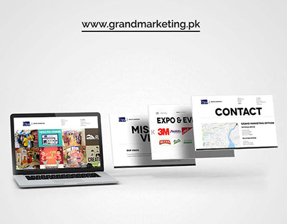 CS-Website for Grand Marketing (Activation Agency)