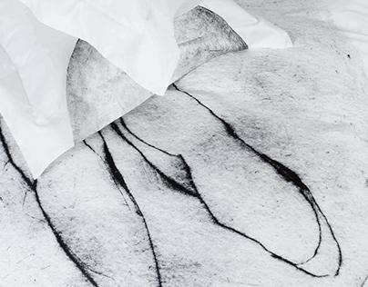 Artwork as a Bed Linen / Flight