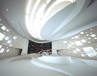 TurkmenGaz Concept Control Room