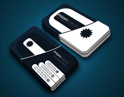 Business Card Design - Old Cassette