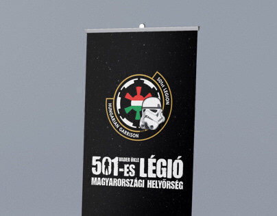Roll up design for the 501st Legion Hungarian Garrison