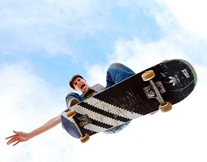 Skateboarding in Brooklyn