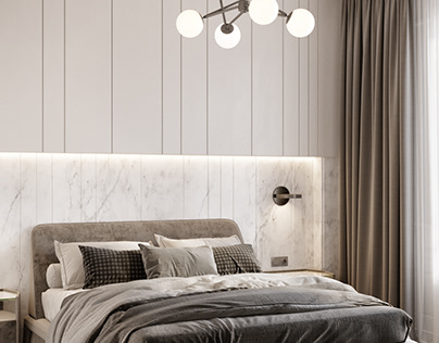 Design and visualization of bedroom