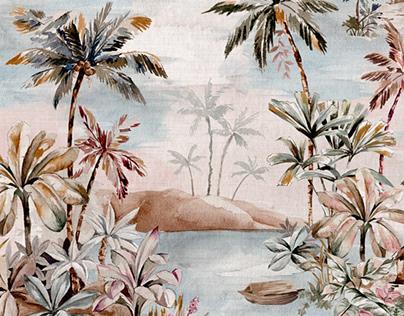 Dream Islands print