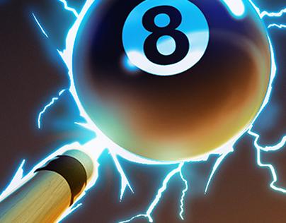 8 Ball Smash Icon