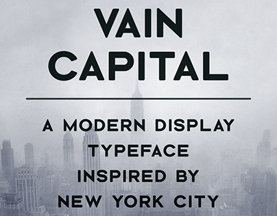 Vain Capital Typeface