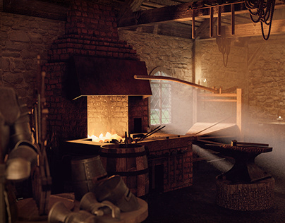 Medieval Armoury & Forge