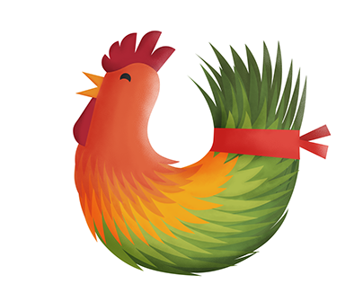 New Year Rooster (Nowruz 96)