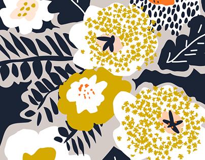 Scandinavian flowers greet you