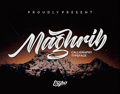 FREE | Maghrib Vintage Calligraphy Typeface