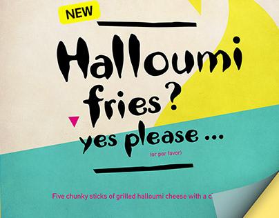 Nando's - Halloumi fries