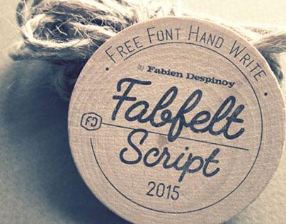 Fabfelt script - Free font