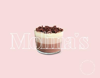 Molina's Bakery Branding