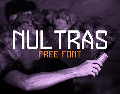 NULTRAS monospace FREE FONT