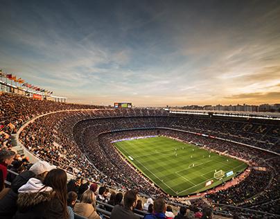 Stadiums of Europe