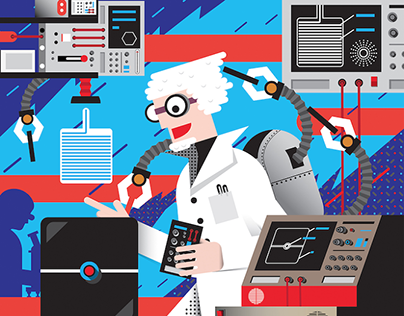 Illustration for WIRED magazine germany
