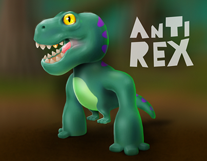 Anti Rex. Game character