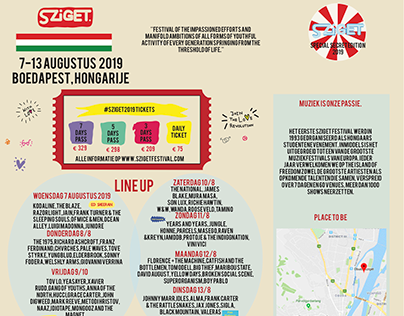 Festival Z-card line up