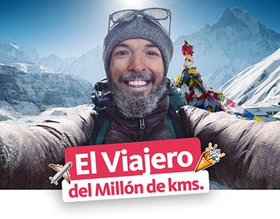 El viajero del Millón de Kms. - Banco Santander