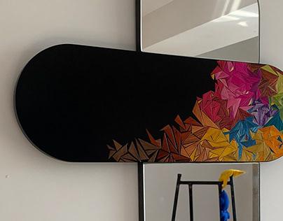 Cruz mirror (color)