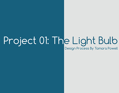 Light Bulb Design Process