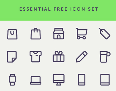 Essential Free Icon Set