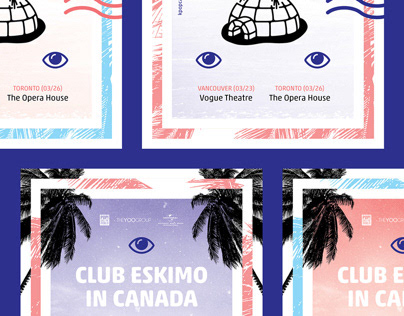 Club Eskimo in Canada Tour