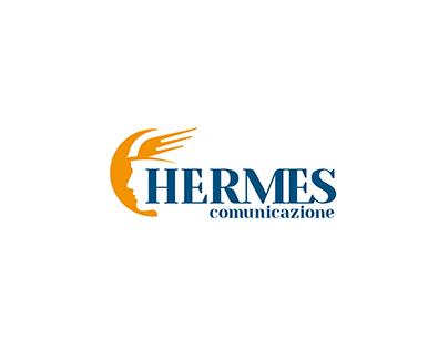 hermes comunicazione - logo e immagine coordinata