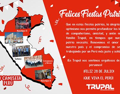 CAMPAÑA DEMUESTRA EL ORGULLO DE SER PERUANO EN TRUPAL