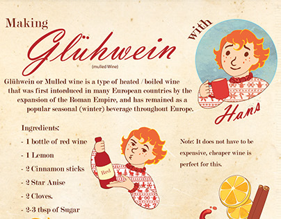 Mulled Wine info graphic