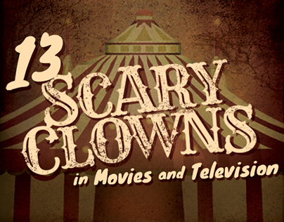 13 Scary Clowns in Movies and Television
