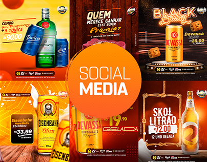 Social Media I Biritas Delivery de bebidas