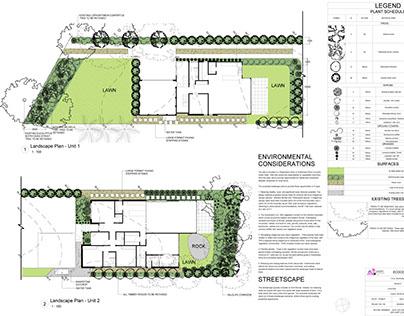 Duplex Design Miranda, NSW - Greenweb Area