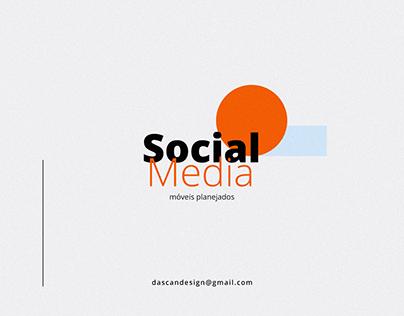 Social Media - Móveis e decoração