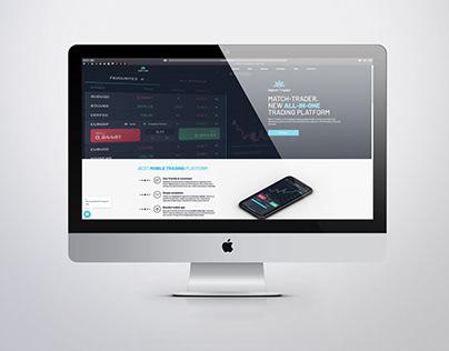 Match-Trader || WEB PAGE