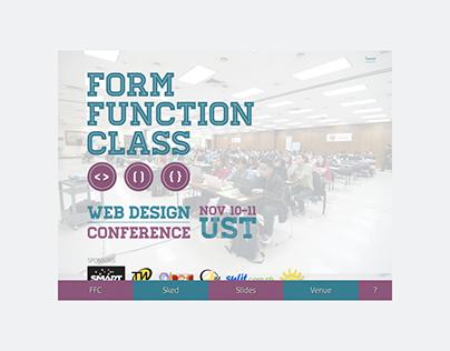 Design to development — Function & Class 2012