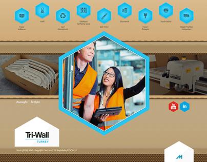 Tri-Wall Website Design