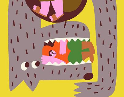 Grimm's Tale Illustrations
