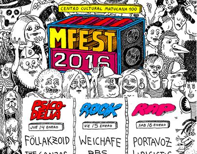 Afiches MFEST2016 M100
