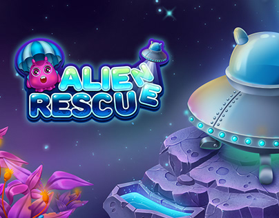 Alien Rescue - match-3 game