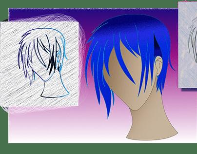 New Cartoon/Anime Graphic Design