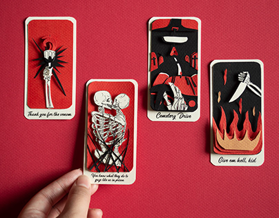 Tarot cards | Paper art