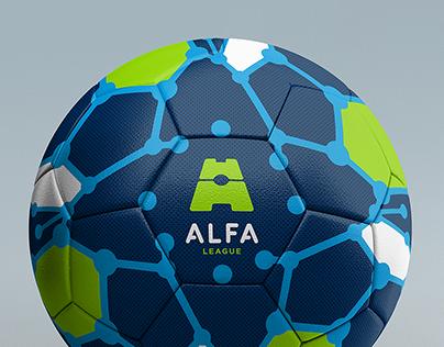 ALFA League 2018 Official Soccer Ball & Packaging